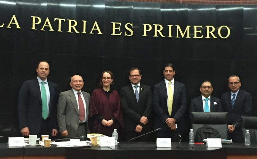 Audiencia Pública del Presidente de la CANAINTEX en la Cámara de Senadores