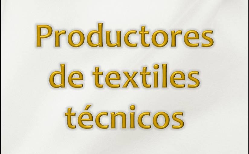 Textiles tecnicos